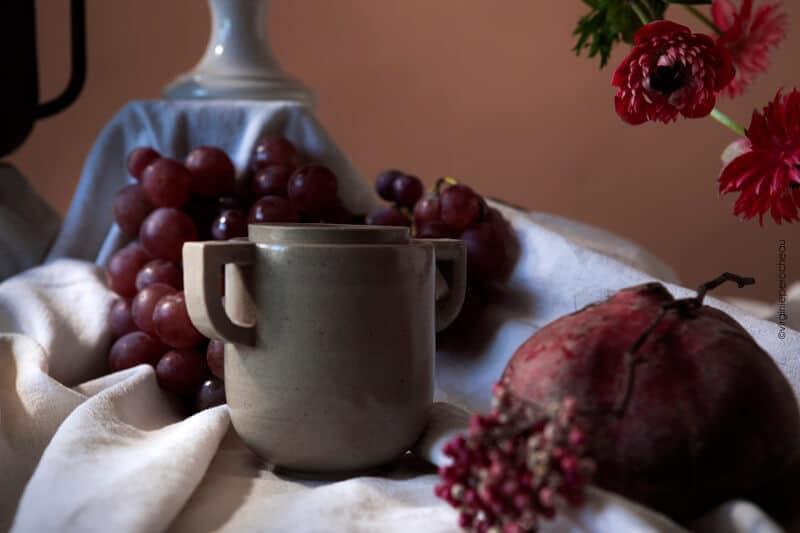 Sucrier artisanal en grès