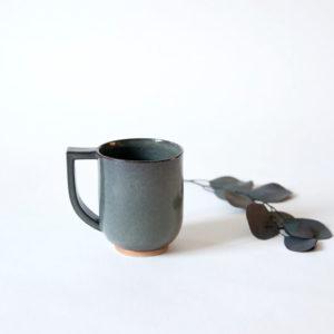 Tasses grise en céramique